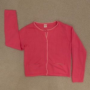 Gymboree Pink Button Front Cardigan Sweater